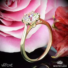Felicity Solitaire Engagement Ring by Vatche Jewelry Box, Jewelry Rings, Fine Jewelry, Jewellery, Engagement Rings Cushion, Solitaire Engagement, Sparkly Jewelry, Solitaire Ring, Diamond Are A Girls Best Friend