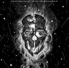Чёрно-белые иллюстрации художника Николаса Делорта - Арт - Библиотека - VeryScary.ru