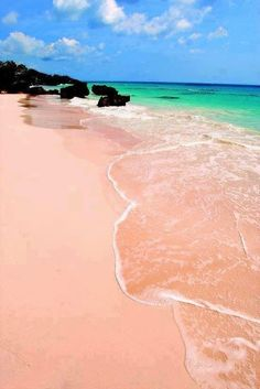 ✯ Pink Budelli Beach - Sardinia, Italy...what this could happen this summer