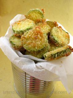 aperitivo light con zucchine