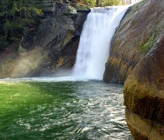 Elk Falls  Near Roan Mountain