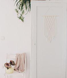 Geknüpfte Makramee Wandbehang, Es Ist Auf Jeden Fall Verbesserungsfähig,  Aber Übung Macht Ja
