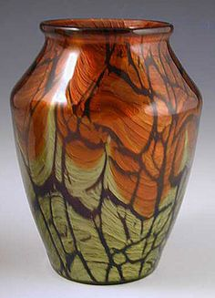 Loetz Art Nouveau Vase in Titania Pattern, Austria, circa 1905