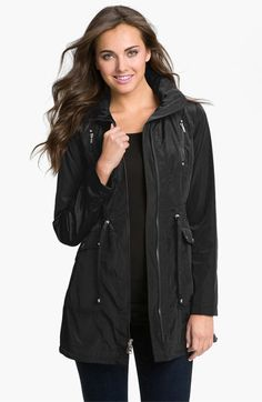 Laundry by Shelli Segal Packable Hooded Anorak available at Nordstrom