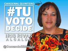 #TUVOTODECIDE LOS ALCALDES DEL PROGRESO #CARDENALQUINTERO #MERIDA IRIS RIVAS SANTO DOMINGO QUIERE UN FUTURO MEJOR VOTA EL #8D