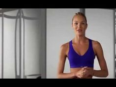 Supermodel Victoria's Secret -Train Like An Angel-- Challenge 4 - Runway Arms (Fall 2012) - YouTube
