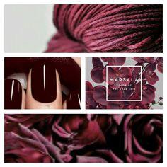 #marsala #pantonecoloroftheyear #pantone #spring2015 #inspiration #nanamarie #nanamarie_com
