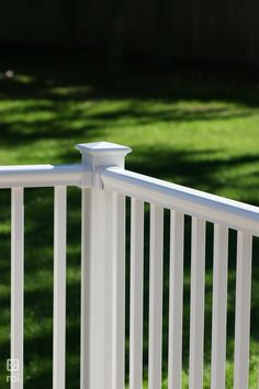 Titan Pro Railing was created with the installer in mind. ideal for residential or commercial applications. Vinyl Deck Railing, Outdoor Stair Railing, Deck Railings, Stair Brackets, Building Code, Outdoor Living, Outdoor Decor, Diys, Outdoor Life