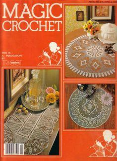 Magic Crochet Nº 19 - Rosio Llamas - Álbuns da web do Picasa