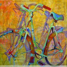 El Museo de Alberto: Bicicleta y periódico