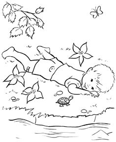Farm Life Coloring Pages | Printable Farm Fun and Family Coloring Page and Kids Activity sheet | HonkingDonkey
