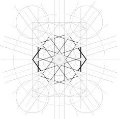 Islamic Art Pattern, Pattern Art, Geometric Art, Geometric Designs, Persian Pattern, Flower Tutorial, Art Reference, Stars, Sketching