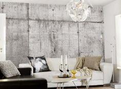 betonlook behang