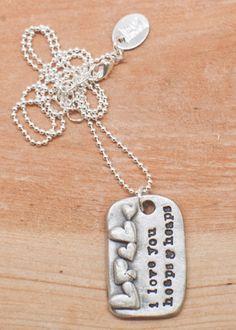 Love, love, love Lisa Leonard's jewelry!!