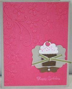 Stampin' Up (SU) Card - Cupcake Punch