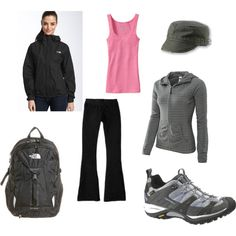 Hiking Outfit #1, created by irishlass421.polyvore.com