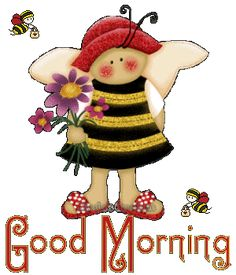 Funny Good Morning Wishes Pictures, Images - Page 14 Good Morning Wishes Pictures, Funny Good Morning Wishes, Butterfly Cross Stitch, Bee Happy, Funny Sayings, Pictures Images, Honeycomb, Bees, Teddy Bear