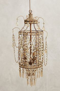 Crystal Palace Chandelier  #anthropologie