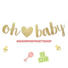 Oh baby baby!  Tag a friend that's expecting! #ohbaby #babyshowerideas #babyshowervibes