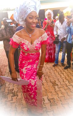 Beautiful Igbo Bride. 2nd outfit.