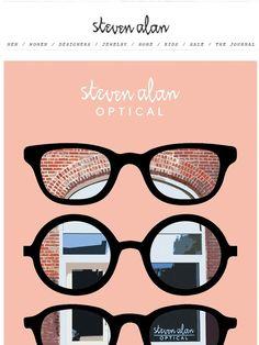 Visit Our Optical Store + Progressive Eyewear - Steven Alan