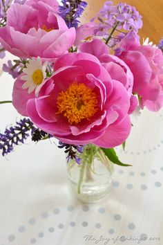Sweet Peonies and Friends
