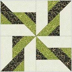 Star Twist Pinwheel Block Tutorial