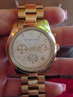 Michel Kors watch #runway watch style mk5055 signature golden