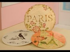 ▶ Transferencia de imagenes sobre madera - Pintura Decorativa - Florencia Cervini - YouTube