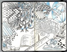 Little notebook page 8 by Mariët Dronten, via Flickr
