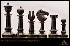 Piezas de ajedrez Edinburgh Upright