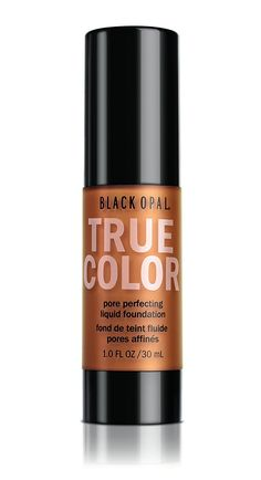 Black Opal True Color Pore Perfecting Liquid Foundation, Black Walnut (Brown) 1 oz (Pack of Liquid Foundation, Makeup Foundation, Pores, Black Opal, Alcohol Free, Vitamin C, True Colors, Cruelty Free, Beauty Makeup
