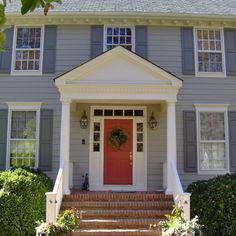 Colonial Exterior Design Ideas, Pictures, Remodel, and Decor - page 3