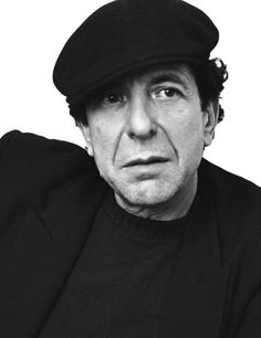 """cohenyearsphotos: """" """" Leonard Cohen, is the men who literally influenced my life and way of thinking about love and relationships… I adore his work since I listened first time his song, The Sister of Mercy on Radio Luxemburg, from Warsaw, Poland in..."""