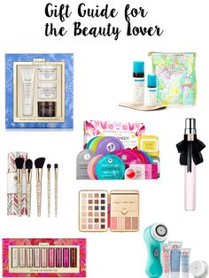 Do you have a beauty lover in your life? Today I'm sharing a gift guide for the beauty lover on Breakfast at Lilly's.