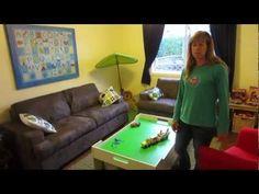 setting up a playroom