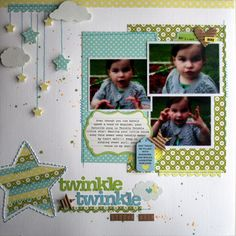 Love the mobile look and I really want to start adding sewing to some of my pages. Think the girls will think I've lost my mind if I show up to scrapbooking with my sewing machine?