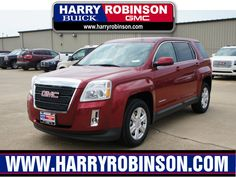 This 2014 GMC Terrain Less than $25,000! Big sales going on now at Harry Robinson Buick GMC.  2014 GMC Terrain SLE-1- New at Harry Robinson Buick GMC 6000 S 36th St, Fort Smith AR 72908