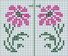 Cross Stitch Cards, Cross Stitch Rose, Cross Stitch Borders, Cross Stitch Flowers, Cross Stitch Designs, Cross Stitching, Cross Stitch Embroidery, Hand Embroidery, Cross Stitch Patterns