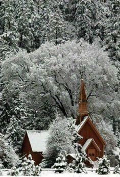 I Love Snow, I Love Winter, Winter Christmas, Winter Snow, Christmas Morning, Outdoor Christmas, Cathedral Church, Auf Dem Land, Kirchen