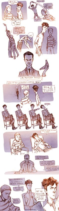 Teen Sherlock- The Boomerang Pt1 by DrSlug.deviantart.com on @deviantART