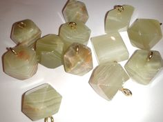 "Vintage big 1""+ Genuine Crazy Lace Agate Lot of 4 random pendants # 614MR by TigersPlace on Etsy"