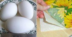 Už je takmer polovica marca a niektorí nad jarou a Veľkou nocou ešte ani neuvažujú. Ak už u vás doma začali nejaké tie prípravy, možno vás inšpiruje aj dnešný návod. Veľkonočné vajíčka nemusíte len ručne maľovať. Keďže sú oválne, ideálna je servítková technika. Budeme potrebovať: uvarené biele vajíčka 2 lyžice škrobu voda štetec servítky potravinárske …
