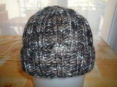Tuto bonnet pour homme tricot