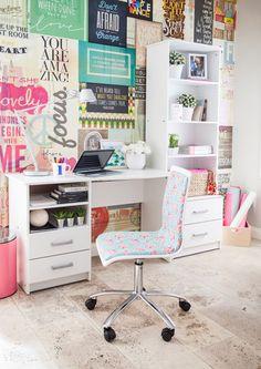 Encontrá el mejor lugar para la hora del estudio. #Ellas #Office #Estudio #Easy