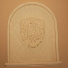 Decorative Element by Italian Cast Stone www.italiancaststone.com 813.902.8900 Custom Fireplace, Cast Stone, Bamboo Cutting Board, It Cast, Design, Decor, Decoration, Dekoration, Inredning