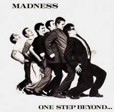 madness album cover I like the simplicity of this one. I would like the sleeve to be predominantly black and white