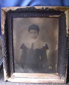 """Captivating photograph purchased from an Estate in Georgia. It is an original photograph in it's original wood frame, under glass. I am told that it is a photograph of a """"freed slave woman"""" or a free woman. I do not have very much information on it. A wonderful piece for any collector. Measures 22 X 27  perry $350  plus shipping To Purchase with PayPal,Check, or money order email Lisa@ LisaLePaige.com  please send me your zip code so that I can get shipping, insurance and packing price…"""