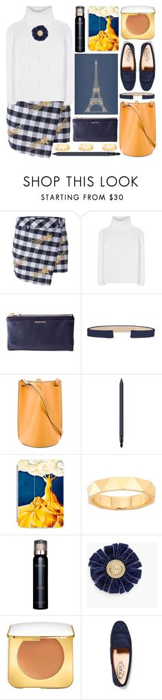 """""""white turtleneck"""" by foundlostme ❤ liked on Polyvore featuring Filles à papa, Loro Piana, Aaron Basha, CÉLINE, Giorgio Armani, Casetify, Show Beauty, Chico's, Tom Ford and Tod's"""