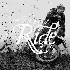 Lettering/Typography / Live for the Ride